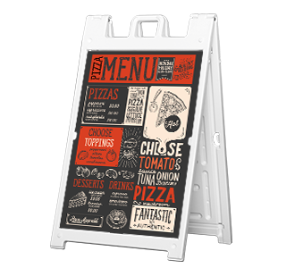 24x36 Sidewalk Sign Large Frame