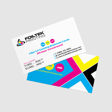 12pt 24 hour printing on business cards with uv coating or matte business cards 12pt card stock uv coated 24 hour turnaround full reheart Images