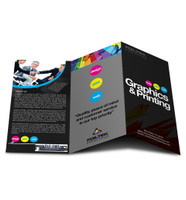 Tri-Fold Brochure Printing on 100lb Text Paper