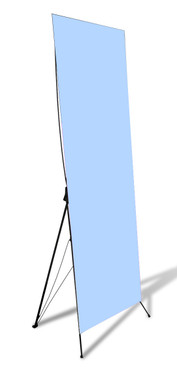 "STAND-UP BANNER - X STAND 24"" X 60"""