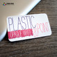 20pt White Plastic Business Cards Full Color Double Sided