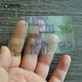 20pt Clear Plastic Business Cards
