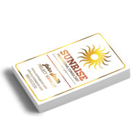 Foil Business Cards Full Color w/ UV or Matte Coating 16pt Card-stock Paper