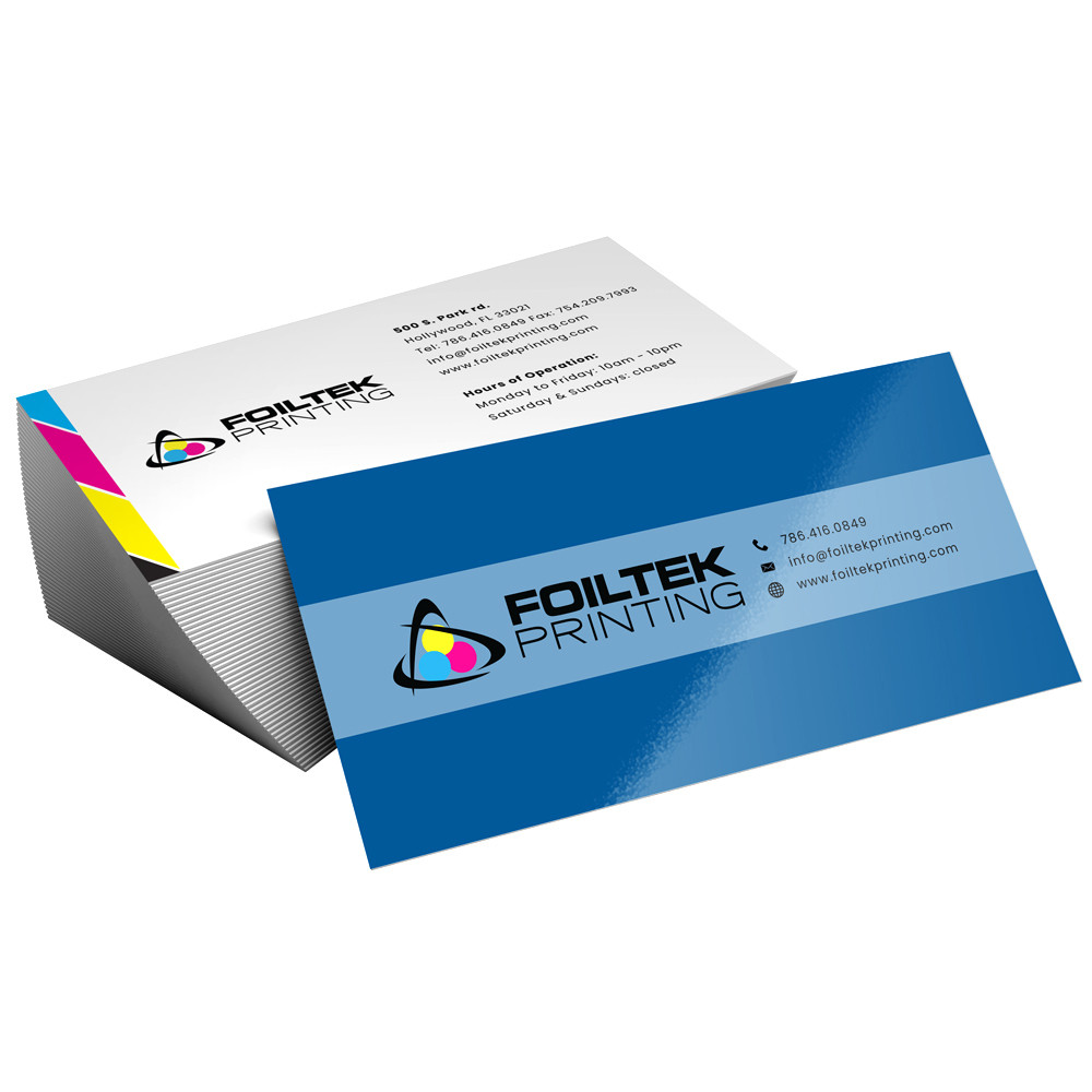 Order 500 Matte Dull Business Cards On 16pt Card Stock Paper