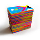 24pt Silk Laminated Colored Edge Business Cards with Round Corners available!