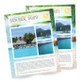 Postcards 8.5 X 11 - Full Page Full Color 16pt Card-Stock Paper
