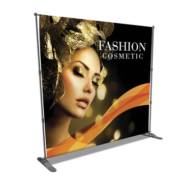 Telescopic Backdrop Stand Step & Repeat Banner