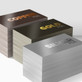 500 Foil Stamped Un-Coated Business Cards