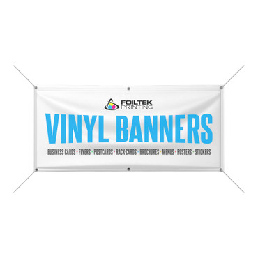 Vinyl Banner 13oz - Matte Full Color