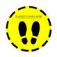 Round Floor Sticker