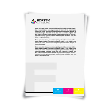 """8.5""""x11"""" Full Page Full Color Letterhead Printing"""