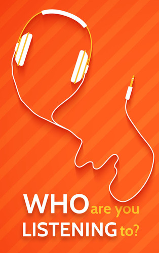 Who Are You Listening To? Earbuds