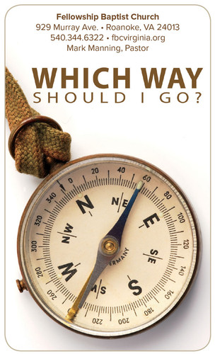 Which Way Card-Compass