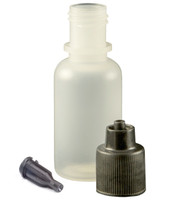 TCG Floral 1/2 oz Squeeze Bottle & Luer Lock Tip Cap Kit Bag of 10