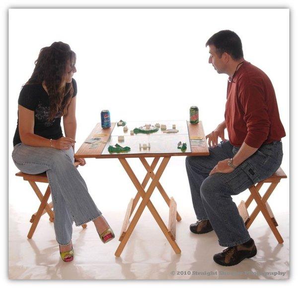 Handmade Oak Folding Tables
