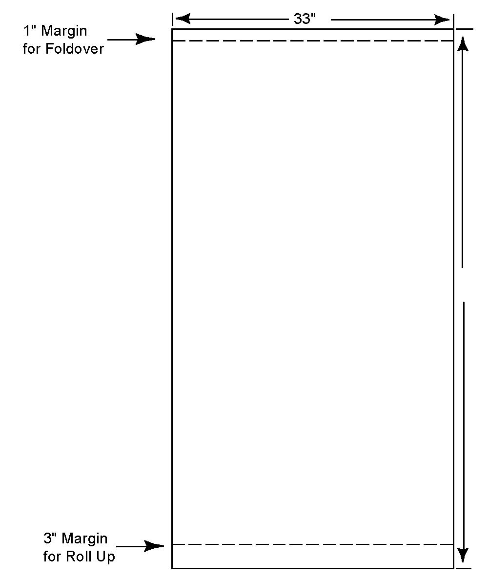 poster margins & size