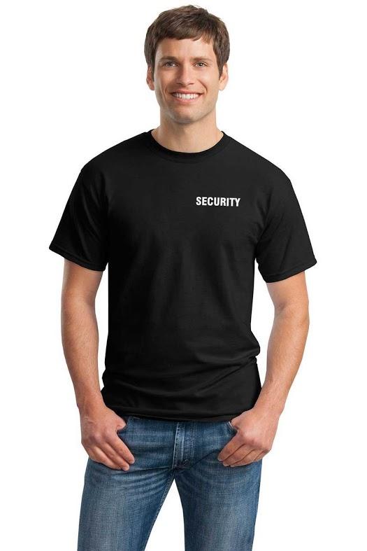 Security short sleeve t-shirt