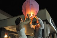 Chinese Paper Sky Lanterns