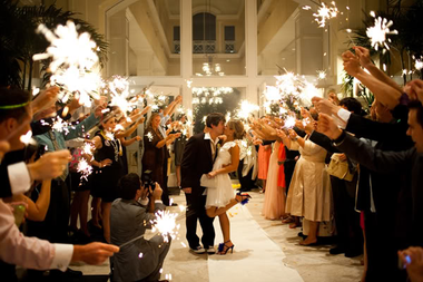 Make your wedding memorable with 36 inch wedding sparklers.