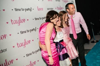 Create your special photo op with step & repeat no glare backdrops for your birthday party.