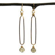Longley Loop & Gemstone Earrings