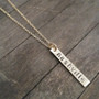 Nashville Necklace - City Slicker - Hand Stamped