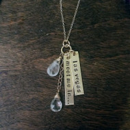 Necklace - Meet Me In... Necklace - Rose Quartz