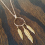 Necklace - Murphy Necklace - Native - Feathers