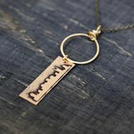Skyline Long Necklace