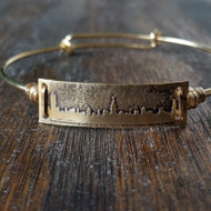 Bracelet - Skyline - Gold Plated Brass