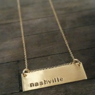 Metro Necklace