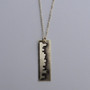 Small Nashville Main Street Skyline Necklace