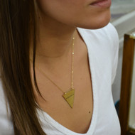 Triangle State Necklace