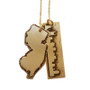 State and Skyline Necklace
