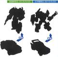 Transformers Adventure - TAVVS-03 Strong Arm vs Wolf