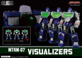 Maketoys Remaster Series - MTRM-07 – Visualizers