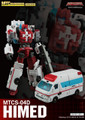 Maketoys Combiner Series - MTCS-04D - HiMed (Guardia)