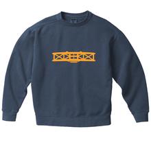 Garment Dyed Sport Crew - Blue Jean
