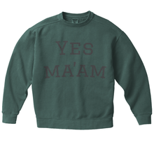 Yes Ma'am Sport Crew - Spruce