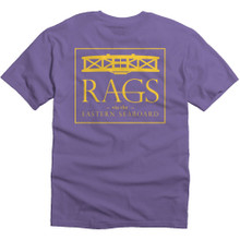 Standard Logo Tee - Purple/Gold