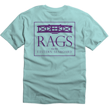 Bi-Plane Tee - Teal Ice/Purple