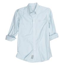Proper Stripe Sport Shirt - Dusk Blue