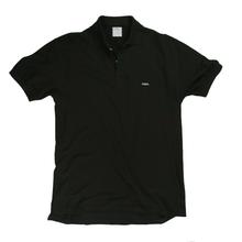 The Standard Piqué Polo Black