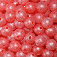 TroutBeads Mottled Natural Roe three sizes available