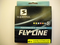 SUPERFLY PERFORMANCE WF 5wt or 6wt. hi-vis yellow fly line