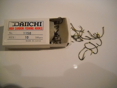 Daiichi 1150 have to be near the top for centerpin steelheaders choice of hooks.  The sedge design and razor sharp point make them a increasingly important part of any float fishing hook box.