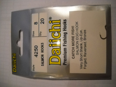 Daiichi hooks are widely popular in the steelheading community.  With great design and being so sharp you will never miss a hook set and you will easily see why they are so popular.