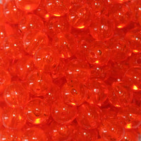 TroutBeads Tangerine three sizes available