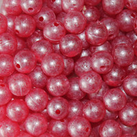 Troutbeads Mottled Ruby Roe three sizes available