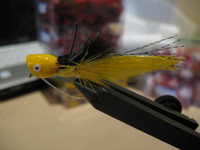 Bass Popper Yellow  2pk.